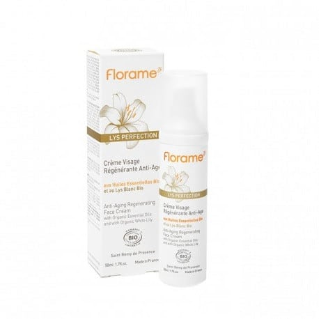 Florame Crema facial regeneradora antiedad Lys Perfection