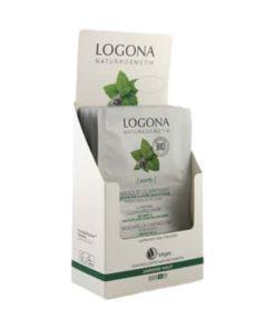 バイオミントとサリチル酸を含むロゴナピュリファイングマスク(1封筒)