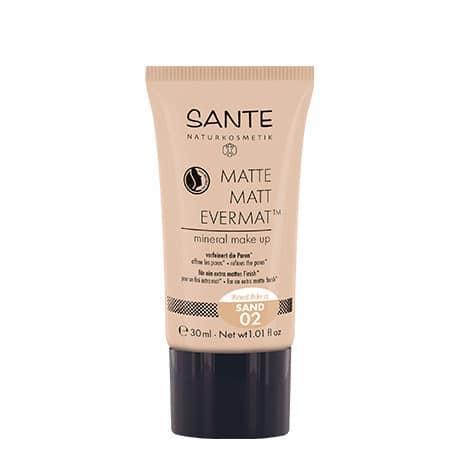Sante Maquillaje Fluido Mate Evermat 02 Sand
