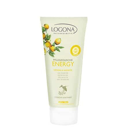 Logona Gel de Ducha Energy con Limón y Jengibre
