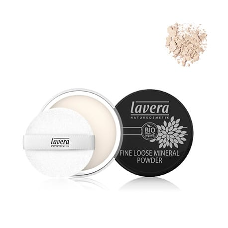 Lavera Maquillaje polvo mineral fino Transparente