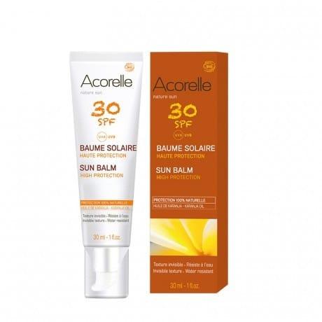 Acorelle Bálsamo solar facial SPF30
