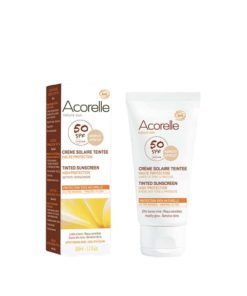 CREMA FACIAL COLOR APRICOT SPF50
