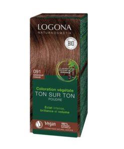 Logona Tinte Colorante Vegetal Color Castaño Chocolate 091