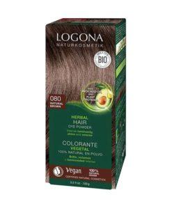 Logona Tinte Colorante Vegetal Color Castaño Dorado 080