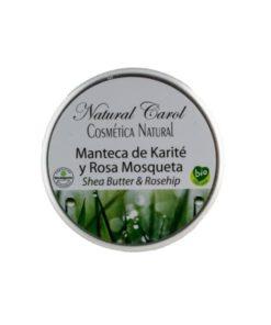 Manteca Karité y Rosa Mosqueta BIO 110ml