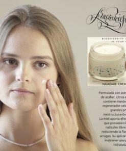 Crema facial hidratante a la flor de azahar, Natural y Orgánica 50ml