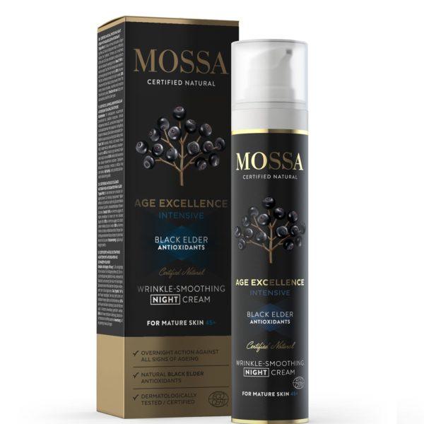 Mossa Age Excellence crema noche antiarrugas