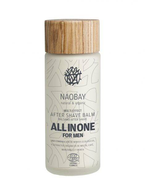 Naobay Balsamo Aftershave Energizante para Hombres. 100ml 3