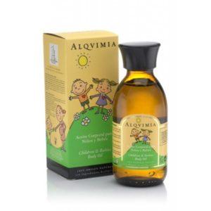 Alquimia Aceite Corporal para Niños y Bebés