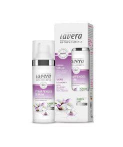 Lavera Serum Facial Reafirmante con Acido Hialuronico Triple Accion