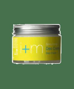 I+M Desodorante en Crema Spicy Energy