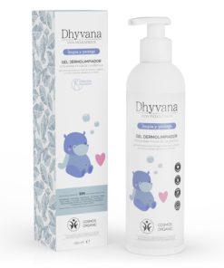 Dhyvana Gel Dermolimpiador con Avena y Flor de Caléndula Eco Pediatrics