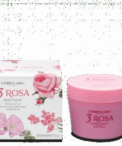 L'Erbolario 3 Rosa Crema Corporal